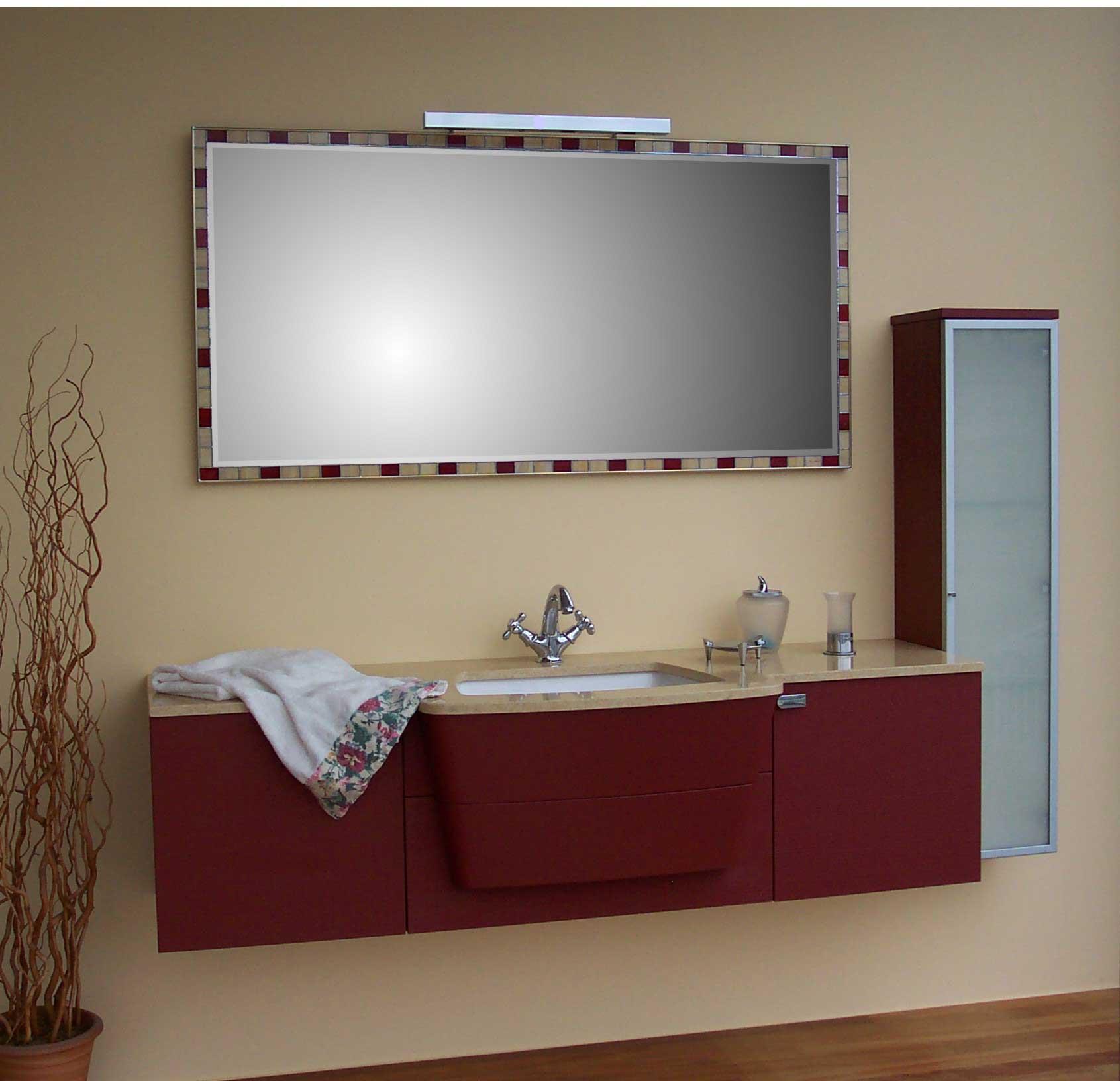 11 specchio TIFFANY mod.F5 con faretto