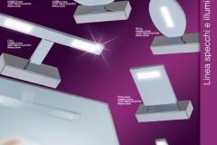 6 LED a muro