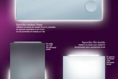 7 Specchi Faretto e con Perimetrali a LED